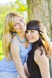 Two beautiful sisters Stock Photo