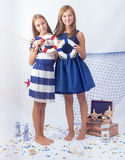 Two beautiful teen girls Royalty Free Stock Photography