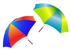 Two beautiful umbrellas Royalty Free Stock Photo