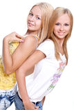 Two beautiful women Royalty Free Stock Image