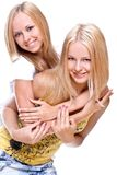 Two beautiful women Royalty Free Stock Photos