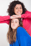 Two Beautiful Women Together Royalty Free Stock Photo
