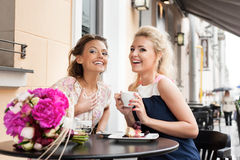 Two beautiful young women Royalty Free Stock Photos