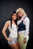 Two beautiful young women Royalty Free Stock Photo
