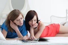 Girl read Stock Photo
