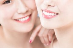 Two beauty woman Royalty Free Stock Images