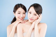Two beauty woman Royalty Free Stock Photos