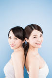 Two beauty woman Royalty Free Stock Photography
