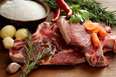 Two beef steack Royalty Free Stock Photo