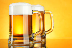 Two beer royalty free stock image