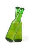 Two beer bottle Stock Photography