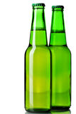 Two beer bottles Royalty Free Stock Image