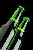 Two beer bottles Royalty Free Stock Photo