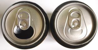 Two beer can Royalty Free Stock Photography