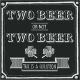 Two beer or not two beer Royalty Free Stock Photography