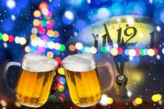 Free Two Beers. Stock Image - 166952141