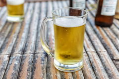 Two beers in glasses Royalty Free Stock Photos