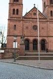 Two bell tower at church #4. Seligenstadt Rhein Stock Photos