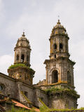 Two bell towers Royalty Free Stock Photos