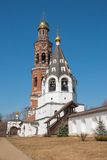Two bell towers Royalty Free Stock Images