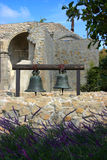 Two Bells hanging at Mission San Juan Capistrano Stock Photography