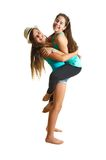Two best friend girls having fun Royalty Free Stock Photography