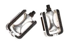 Two bicycle pedals Stock Images