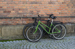 Two bicycles Stock Photography