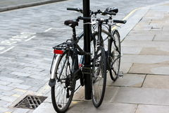 Two Bicycles Stock Photos