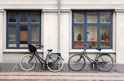 Two Bicycles Stock Photo