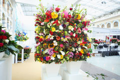 Two big bouquets at XIX International Flower Show Stock Photos