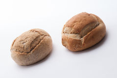 Two big breads Royalty Free Stock Photo