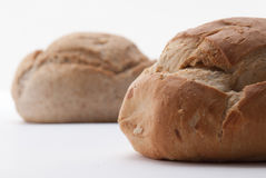 Two big breads Stock Photos