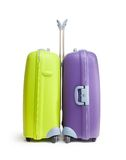 Two big hard suitcases Royalty Free Stock Photography