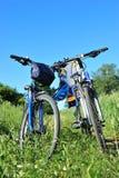Two bikes Royalty Free Stock Photo