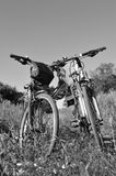Two bikes Stock Photography