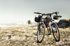 Two bikes Royalty Free Stock Photos