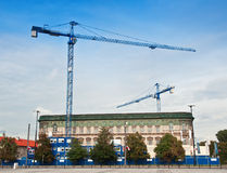 Two bilding crane Royalty Free Stock Images