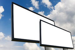 Two billboards Stock Photography