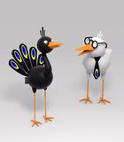 Two birds Stock Photography