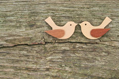 Two birds Royalty Free Stock Photo