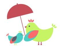 Two birds Stock Image
