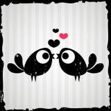 Two birds in love Stock Photo
