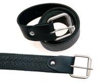 Two black belt Royalty Free Stock Photo