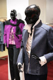 Two black mannequins Royalty Free Stock Images