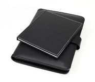 Two Black note book Royalty Free Stock Photos