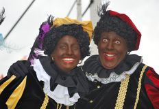 Two black Petes Royalty Free Stock Photography