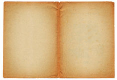 Two blank ancient pages Stock Images
