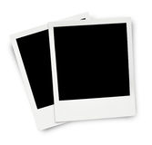 Two blank old photo frames Stock Photography