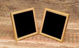 Two blank photo frame Royalty Free Stock Photo